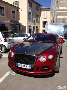 bentley continental mansory