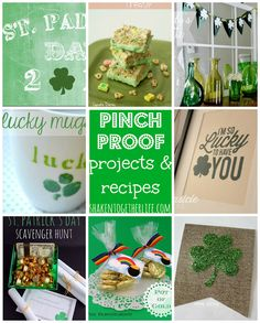 """13 """"pinch proof"""" projects & recipes to celebrate St. Patrick's Day at shakentogetherlife.com"""
