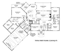 Granny pods aging parents Mayberry Place House Plan - Daylight Basement Floor - House Plan - Mayberry Place First Floor 2 Luxury House Plans, Dream House Plans, House Floor Plans, Basement Flooring, Basement Remodeling, Basement Ideas, Basement Storage, Basement Bathroom, Remodeling Ideas
