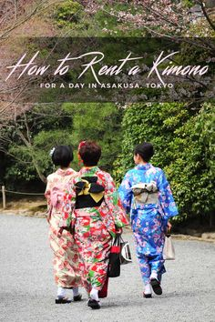 How to rent a Kimono for a day in Asakusa, Tokyo, Japan