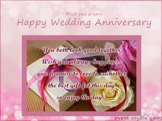 Collection of heart warming wedding anniversary wishes and messages. Send wonderful wedding anniversary wishes to your dears from this collection. You can find wedding anniversary wishes for parents, sisters, for your brother and for your friends. Diy Wedding Anniversary Cards, Anniversary Wishes For Parents, Wedding Day Wishes, Marriage Anniversary, Traditional Anniversary Gifts, Bouquet, Married Life, Blessings, Waiting