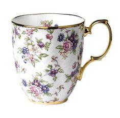 Royal Doulton-Royal Albert 100 Years 1940-English Chintz Mug