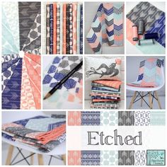Hawthorne Threads - Etched Fabric Collection