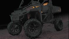 Polaris Ranger 900 Portal Lift Kit. This gear lift from rockcrusher portal lift on MUDGUR.com, provides a 4 inch lift and about 30% gear reduction.