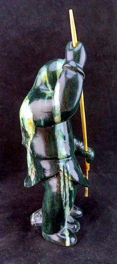 Inuvialuk Hunter Canadian Art Inuvialuit Inuit Art Tuk