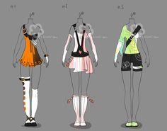 Some Outfit Adopts #11 - sold by Nahemii-san.deviantart.com on @deviantART