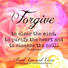 We cannot embrace God's forgiveness if we are so busy clinging to past wounds and nursing old grudges. Soul Cleansing, Reading Motivation, God Forgives, Forgiveness Quotes, Forgiving Yourself, Happy Moments, Good Advice, Love Life, Wise Words
