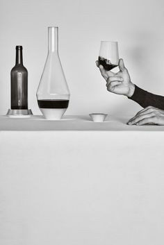 Sommelier Collection by Michael Anastassiades forPuiforcat. Photo by Daniel Riera.