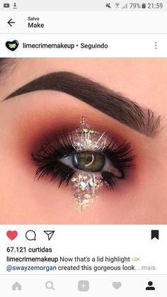 Eye Makeup Tips – How To Apply Eyeliner Makeup Goals, Makeup Inspo, Beauty Makeup, Hair Makeup, Makeup Tips, Makeup Desk, Glamour Makeup, Hair Beauty, Helloween Make Up