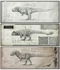 Tyrannosaur strains - IRIRIV