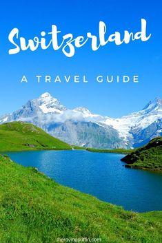 Beautiful mountain in Switzerland travel guide