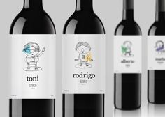 Fun #packaging for all our #wine loving peeps -- Hahaha, wonder which character I'd be!