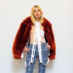 Instagram media by maxfieldla - #MAISONMARGIELA Coat + Bodysuit + Shirt with #OFFWHITE Pants // @maisonmargiela @jgalliano @off____white @virgilabloh #margiela #johngalliano #offwhitecovirgilabloh #virgilabloh #maxfieldla #maxfield