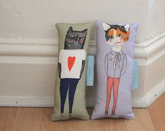 Kitty pillows!!!!