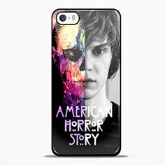 American Horror Story Tate Langdon Evan Peter Design for Samsung Galaxy and Iphone Case (iPhone 5C black)