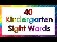 10b3b601726fb4379aa8955519c404d3  kindergarten sight words - Sight Word Song For Kindergarten