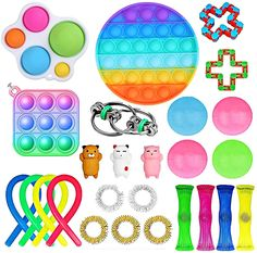 Stress Toys, Stress Relief Toys, Anxiety Relief, Cool Fidget Toys, Cool Toys, Figet Toys, Kids Toys, Fun Noodles, Pop Bubble