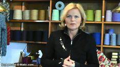 Oprulning af garn til mønsterstrik strikkekit med Christel Seyfarth Del 1 af 2