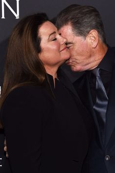Pierce Brosnan and Wife Keely Flaunt Their 23-Year Romance on the Red Carpet