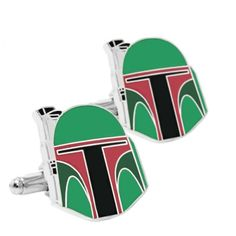 Boba Fett Cufflinks Wedding Photographer London, Geek Wedding, Boba Fett, Red Green, Cufflinks, Geek Stuff, Color, Inspiration, Accessories