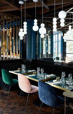 Le restaurant du Roch Hôtel & Spa dans le centre de Paris.