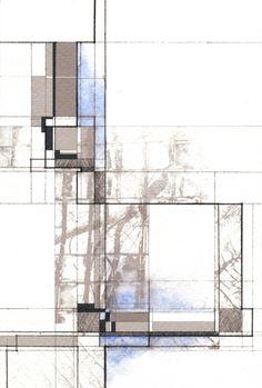 John Fechtel. Feelings of open space and materiality. Rendering idea.