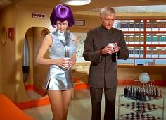 Just think Lt., real coffee! Gen Henderson approved that Starbucks Kiosk to open here on Moonbase! Hee Hee I can't wait!