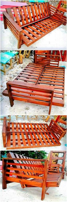 wood pallet sofa and couch ideas 18