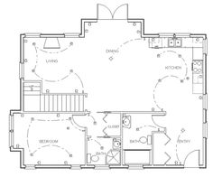 Symbols floor plans and floors on pinterest - Design your own bathroom floor plan free ...
