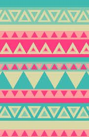 20 interesting shapes- I love the simple repetition of triangles and colors in tribal patterns
