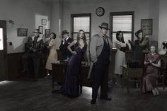 Season 4 Castle cast promo pic. Oh mais oui.