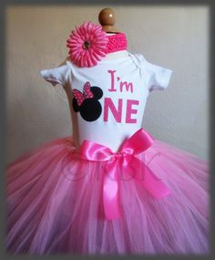 On Sale Minnie Mouse Birthday Outfit Minnie Outfit by RBKBoutique