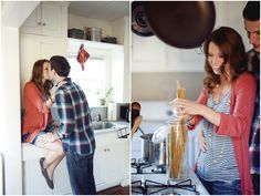 Cooking Engagement Sessions | On The Go Bride