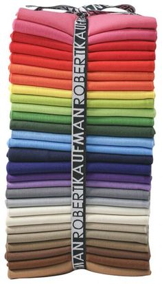 Kona® Cotton, New Colors ®  28 fat quarters, shipping in June 2012...perfect birthday gift for me!