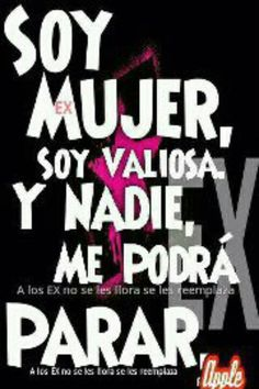 Soy mujer soy valiosa!