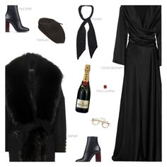 """Go Out, Celebrate"" by amberelb ❤ liked on Polyvore featuring moda, Victoria Beckham, Paul Smith, Balmain, Parkhurst, Rockins, Erica Courtney, women's clothing, women's fashion e women"
