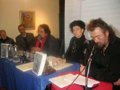 Κωνσταντίνος Κωνσταντόπουλος, Ντένια Κυπρίου Αθανασοπούλου, Θανάσης Παπαθανασίου, ο συγγραφέας και ο Βάλτερ Πούχνερ.