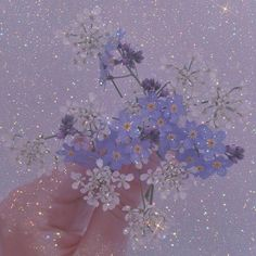 Violet Aesthetic, Light Blue Aesthetic, Lavender Aesthetic, Blue Aesthetic Pastel, Aesthetic Pastel Wallpaper, Aesthetic Colors, Flower Aesthetic, Aesthetic Images, Aesthetic Collage