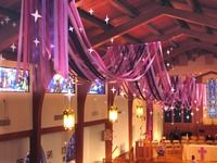 ADVENT display. I so wish our church had higher ceilings. Sigh.