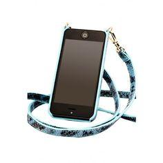 CYNTHIA Light Blue Bandolier / iPhone accessory / bandolierstyle.com Um..yes please