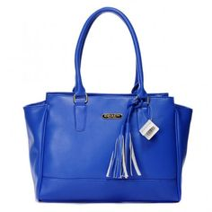 Best Choice Coach Legacy Candace Carryall Medium Blue Satchels WV6503