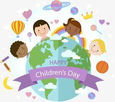 Children's day in cartoon world, Children's Day, 儿童节logo, International Children's Day PNG and Vector Happy Children's Day, Happy Kids, Kids Vector, Vector Free, Children's Day Craft, World Clipart, International Children's Day, Cultures Du Monde, We Are The World