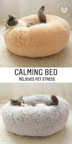 Calming Pet Bed - 40% OFF ⭐️⭐️⭐️⭐️⭐️