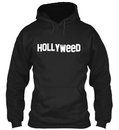 Hollyweed Black Suéter Front