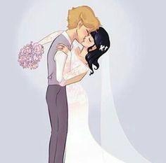 Adrienette wedding . Married