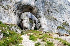 Romania Cerdacul Stanciului carstic cave Arges Carpathian mountains