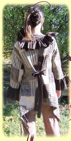 veste asymétrique