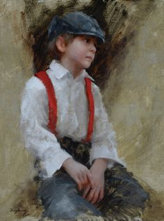 """""""Red Suspenders,"""" award winner -- by Marci Oleszkiewicz (b.1979, American)"""