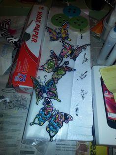 My butterflies