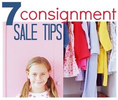 How to plan your trip to a consignment sale!  Invaluable advice!
